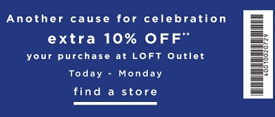 Coupon for: U.S. LOFT Outlets: Labor Day Sale