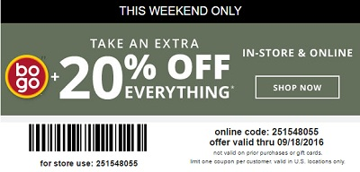 Coupon for: Shop weekend sale at Payless ShoeSource