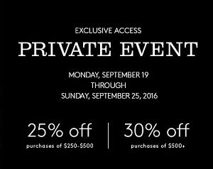 Coupon for: Shop Private Shopping Event at US Coach