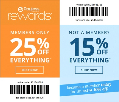 Coupon for: Exclusive Sale at Payless ShoeSource stores
