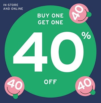 Coupon for: Buy One, Get One with discount at U.S. CALL IT SPRING stores and online