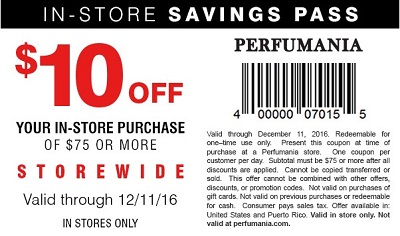 Coupon for: U.S. Perfumania Coupon Alert