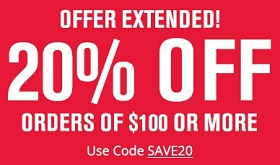 Coupon for: U.S. Foot Locker online sale: Extra 20% Off