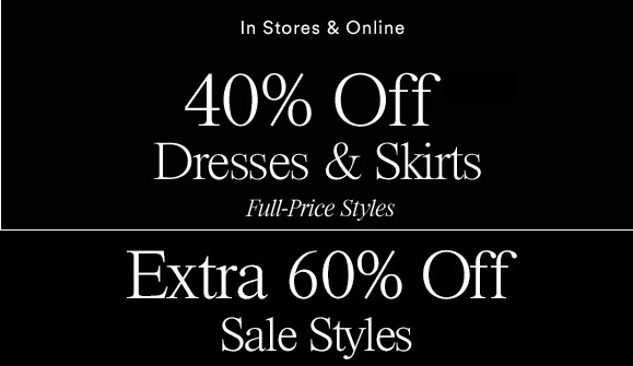 Coupon for: U.S. Ann Taylor Deals: Get an extra up to 60% off