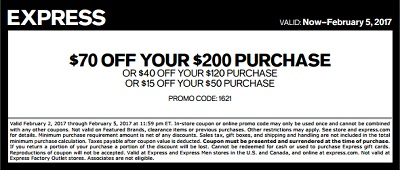 Coupon for: Use your printable coupon at U.S. Express stores