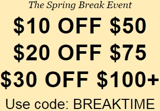 Coupon for: U.S. Levi's Deal: The Spring Break Event