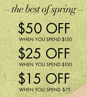 Coupon for: U.S. Nine West: The Best of Spring Event