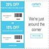 Coupon for: Get carter's printable savings pass