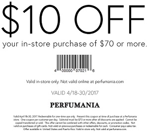 Coupon for: Get Perfumania In-store Savings Pass