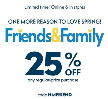 Coupon for: U.S. Neiman Marcus: It is Friends & Family Sale time