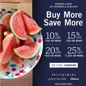 Coupon for: Memorial Day Savings just started at U.S. Pottery Barn