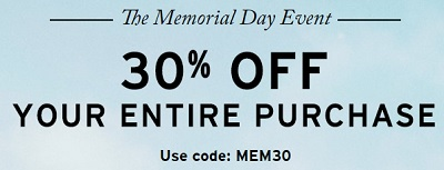 Coupon for: Levi's Memorial Day Event is still on