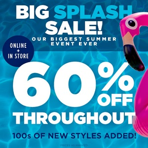 Coupon for: Enjoy Big Splash Sale at U.S. Aéropostale