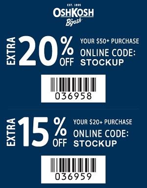 Coupon for: U.S. OshKosh B'gosh: Save with printable coupon