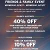 Coupon for: U.S. Eddie Bauer Sale: Enjoy Friends & Family Event