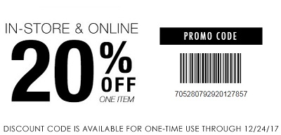 Coupon for: Enjoy an exclusive offer from U.S. Tillys