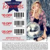 Coupon for: Shop with Aéropostale in store coupons