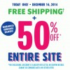 Coupon for: The Children's Place, 50% off everything