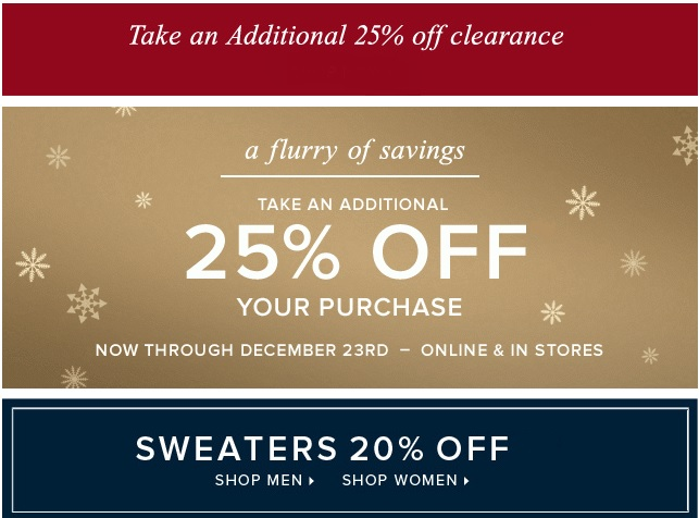 Coupon for: Brooks Brothers, take an extra discount