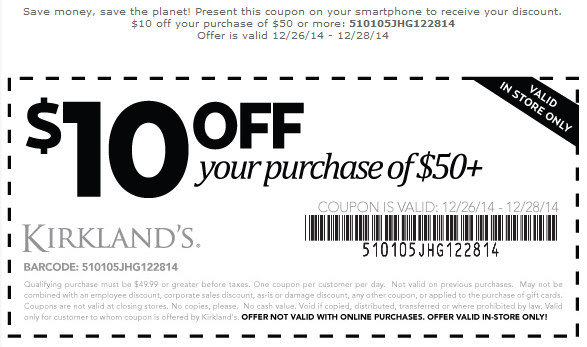 Coupon for: Kirkland's, After Christmas SALE