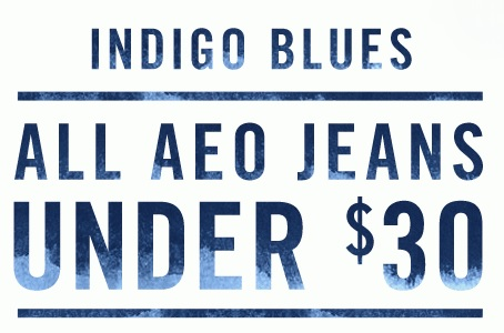 Coupon for: American Eagle Outfitters, All AEO Jeans for special prices