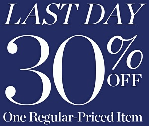 Coupon for: Talbots, Last day of SALE