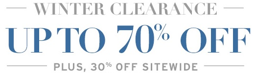 Coupon for: G.H. Bass & Co., Winter Clearance