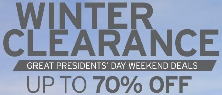 Coupon for: Eddie Bauer, President's Day Weekend Deals