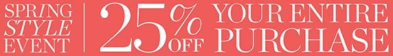 Coupon for: Talbots, Spring Style Event
