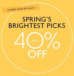 Coupon for: Nine West, Spring's brightest picks