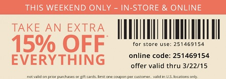 Coupon for: Payless ShoeSource, Extra savings