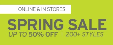 Coupon for: Eddie Bauer, Spring sale is on