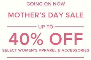Coupon for: Brooks Brothers, Mother's day Sale
