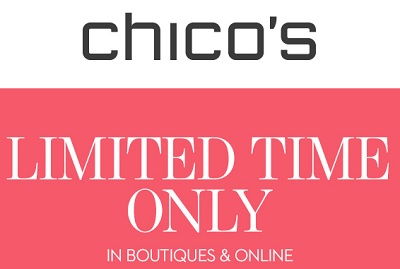 Coupon for: Chico's, 5 gifts for mom