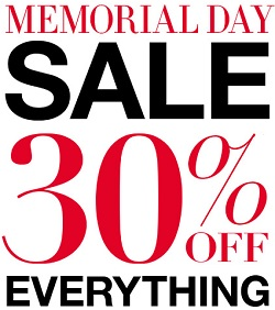 Coupon for: BCBGMAXAZRIA, Memorial Day Sale