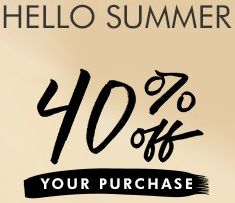 Coupon for: Banana Republic, Hello Summer Event