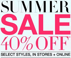 Coupon for: BCBGMAXAZRIA, Summer Sale 2015