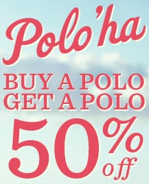 Coupon for: Polo'ha! BOGO Sale Offer from Tommy Bahama