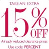 Coupon for: The Percent Event at Helzberg Diamonds