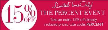 Coupon for: Helzberg Diamonds, The percent event