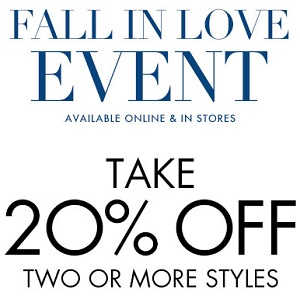 Coupon for: Fall in love event at Nine West stores