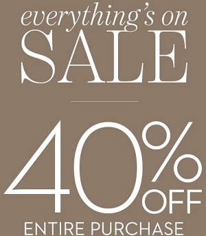 Coupon for: Everything is on sale at Chico's