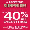 Coupon for: Reveal your Christmas surprise from Bath & Body Works