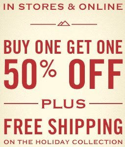 Coupon for: Start your Monday with BOGO offer at American Eagle Outfitters