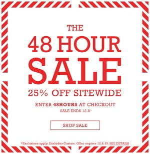Coupon for: Last day of 48 hour sale from Converse