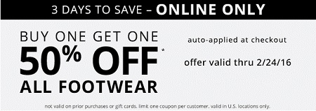 Coupon for: Online sale at Payless ShoeSource