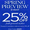 Coupon for: U.S. Chico's locations: Spring Preview Event