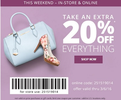Coupon for: Shop with printable coupon at Payless ShoeSource stores