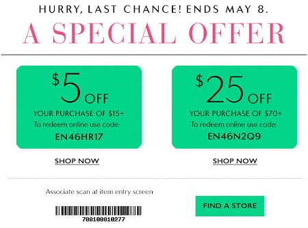 Coupon for: Save money at Charming Charlie store locations