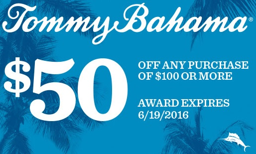 Coupon tommy bahama